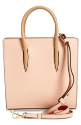 Christian Louboutin 'Small Paloma Empire' Calfskin Leather Tote Pink Mystic Pink Cubiste