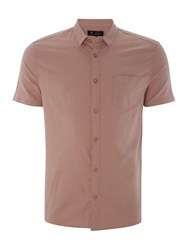 Label Lab Tring Light Herringbone Shirt Pink