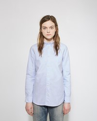 Visvim Albacore Knit Patch Shirt Light Blue