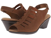 Softspots Faye Whiskey Otago Nubuck Women's 1 2 Inch Heel Shoes Brown