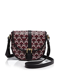 Liberty London Liberty Of London Carnaby Saddle Crossbody Oxblood