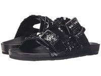 Kennel And Schmenger Love Double Buckle Sandal Black