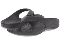 Aetrex Lynco Flip Black Women's Sandals
