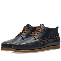 Sperry Topsider Authentic Original Wedge Chukka Blue