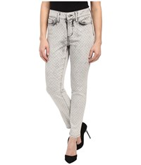 Nydj Petite Petite Clarissa Ankle In Metal Polka Dot Metal Polka Dot Women's Jeans Blue