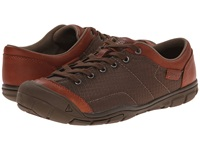 Keen Cnx Ii Lace Mesh Tortoise Shell Men's Lace Up Casual Shoes Brown