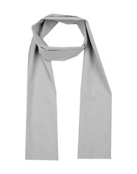 Maestrami Accessories Oblong Scarves Men Light Grey