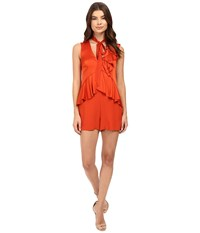 Rachel Zoe Kailen Romper Spice Women's Jumpsuit And Rompers One Piece Red