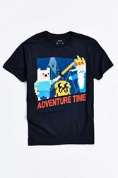 Urban Outfitters Adventure Time 8 Bit Tee Black