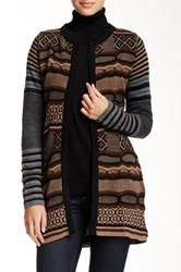 Desigual Jersey Cardigan Brown