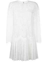 Ermanno Scervino Lace Dress White