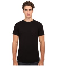 Altamont Sharp Angles Circle Pocket Black Men's T Shirt