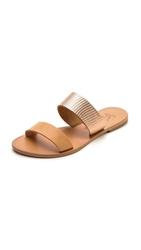 Joie A La Plage Sable Two Band Sandals Rosegold