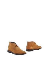 Lumberjack Ankle Boots Camel