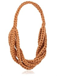 Alienina Braided Cotton Rope Necklace