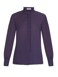 See By Chloe Ruffle Collar Cotton Blouse