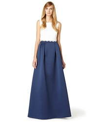 Erin Fetherston Jacqueline Pleated Ballgown Skirt Eclipse