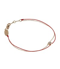 Redline Chain And Thread Pure Elegant Bracelet Female