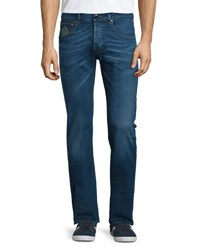 Etro Five Pocket Slim Fit Denim Jeans Medium Blue