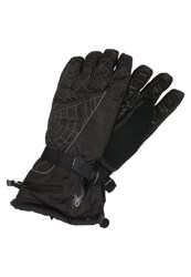 Spyder Overweb Gloves Black Polar