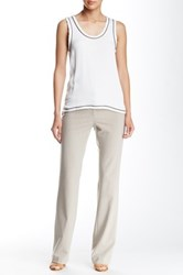 Amanda And Chelsea Straight Leg Dress Pant Brown