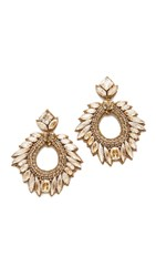 Deepa Gurnani Chantel Earrings Gold