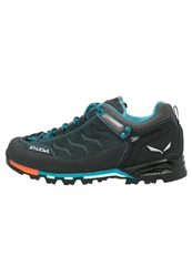 Salewa Mtn Trainer Gtx Walking Shoes Carbon Pagoda Dark Blue