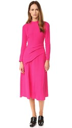 Rachel Comey Stampede Dress Hot Pink