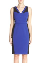 Women's Adrianna Papell Colorblock Knit Sheath Dress