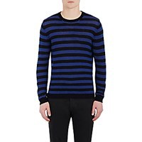 Barena Venezia Men's Striped Sweater Black Blue Black Blue