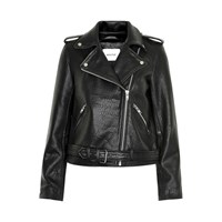 Gestuz Zilla Embroidered Leather Jacket