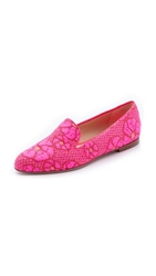Paul Andrew Suffix Flats Neon Rose