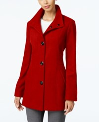 Inc International Concepts Stand Collar Peacoat Only At Macy's Red