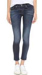 Rag And Bone Mid Rise Slim Fit Capri Jeans Orson