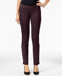 Styleandco. Style Co. Petite Curvy Skinny Pants Only At Macy's Dried Plum