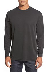 Men's Bugatchi Long Sleeve Crewneck Sweatshirt Black