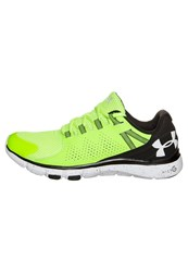 Under Armour Limitless Sports Shoes Fuel Green Black White Neon Yellow