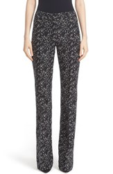 Lela Rose Women's 'Minnow' Print Pants
