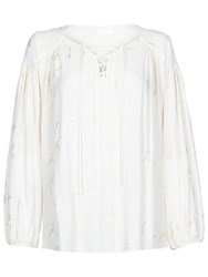 Ghost Vivian Blouse Ivory