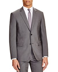 Theory Sharkskin Slim Fit Sport Coat Charcoal