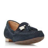 Linea Giberal Tassel Trim Loafers Navy
