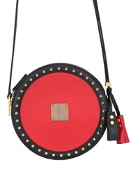 Mcm Berlin Tambourine Faux Leather Bag