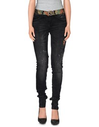 Desigual Denim Denim Trousers Women Black