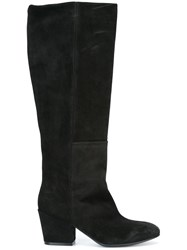 Buttero Under The Knee Boots Black