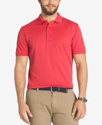 G.H. Bass And Co. Men's Solid Performance Polo Chrysanyemum