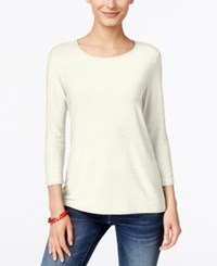 Jm Collection Jacquard Top Only At Macy's
