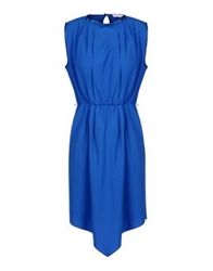 George J. Love Short Dresses Blue