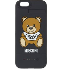 Moschino Iphone Toy Bear Battery Pack Black