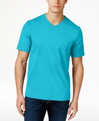 Club Room Men's Big And Tall V Neck T Shirt Only At Macy's