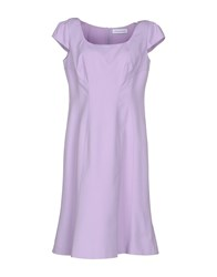 Maria Grazia Severi Dresses Knee Length Dresses Women Lilac